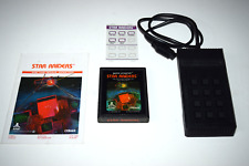 Star Raiders Atari 2600 Video Game Touch Pad Bundle
