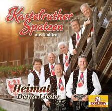 Deutsche CD-Sampler vom Kastelruther Spatzen's Musik
