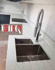 White Mirror Fleck Quartz Kitchen Worktops | Affordable prices | Sample