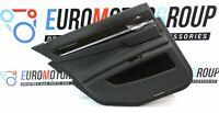 BMW Porta Rivestimento Pelle Posteriore Sinistro 7' F01 Black Pannello