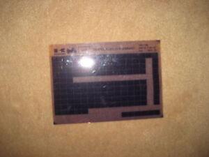 Kawasaki ZXR 400 ZX400 L4 _ 5 _ 7 _ Catálogo de Piezas de Repuesto Microfichas