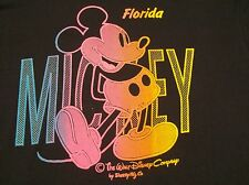 "Mickey Mouse ""Florida"" Vintage T-Shirt Large 1970's Walt Disney Land Cartoon Etc"