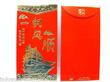 2 x Good Luck Chinese Traditional Golden RED PACKET Envelopes Premium(P33)