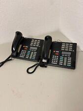 Norstar Nortel Black Telephone Phone M7310 Lot Of 2