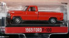 RED 1969 FORD F-100 '69 STARSKY & HUTCH movie car 1/64 greenlight NEW DIECAST