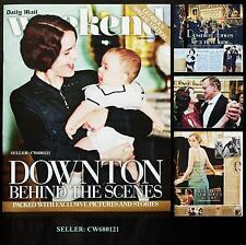 DOWNTON ABBEY BEHIND THE SCENES EXCLUSIVE PICTURES WEEKEND MAGAZINE NEW SEP 2013