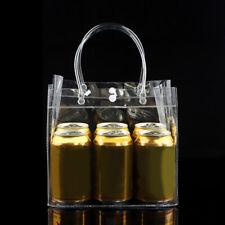 New Women Clear Bag Handbag Cosmetic Shoulder Storage PVC Transparent Travel Bag