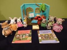 Lil Woodeez Nursery Baby Hoppin Harvester Mice Rabbit Family Storybook Bunny Lot