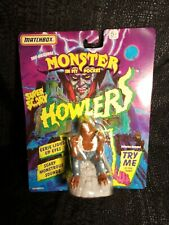 1992 Matchbox Monster in my Pocket Super Scary Howlers Werewolf WORKS! MINT NEW!