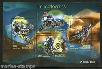 TOGO 2015  MOTORCYCLES SHEET MINT NH