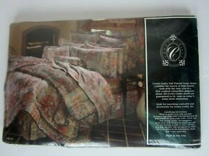Vintage 80's CROWN CRAFT Caravan Twin Flat Sheet Percale, No Iron, New Package