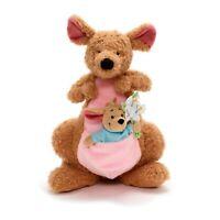 Disney Kanga & Roo Small Soft Plush Toy Doll Set Winnie The Pooh 35cm