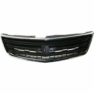 Front Grille Without Chrome fits 2013 2014 2015 2016 2017 Chevrolet Traverse