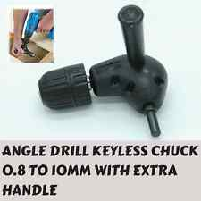 Drill Attachment Right Angle drill 90°degree0.8 to 10 mm Handle KEYLESS