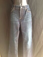 NWT!!Ralph Lauren Slimming Fit Jeans LRL 6 x 33Classic Bootcut Dark Blue  $89.50