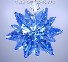 m/w Swarovski Crystal Suncatcher Sapphire Blue Octagon Star Lilli Heart Designs