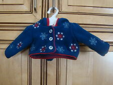 American Girl Doll Molly Skating Outfit Hooded Jacket ONLY
