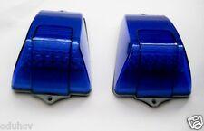 2 x (Paar) blau Seitenblinker DACH-ECKE 18 LED Lichter für Volvo LKW Bus