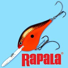 Rapala Red Crawdad Dives To 20 Feet SureSet Hooks & Metal Disc Diving Lip