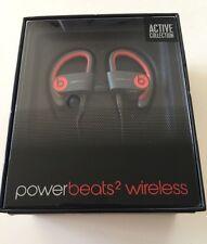 Beats by Dr Dre Powerbeats2 Wireless Ear-Hook Bluetooth Headphones Siren Red