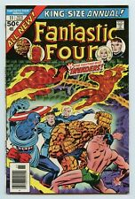 Fantastic Four Annual #11 GD/VG Marvel Comics 1976 - The Invaders