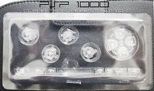 PSP 1000 Replacement Clear Transparent Button Set - UK Dispatch