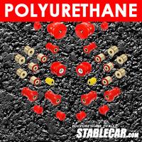 POLYURETHANE: Full suspension bush kit Mercedes W201 190 E W124 SL R129