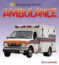 Ambulance  Emergency Vehicles - hard covered book Brand new!