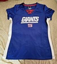 New York Giants Jersey Large babydoll tee t-shirt ladies NFL NY Giants