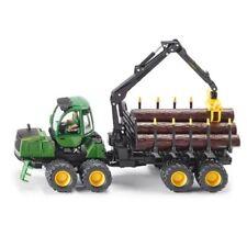 Modellini statici di mezzi agricoli trattori neri SIKU