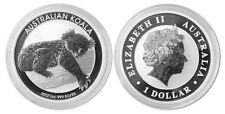 2012 Australia $1 .999 Silver Koala Original Perth Mint Capsule