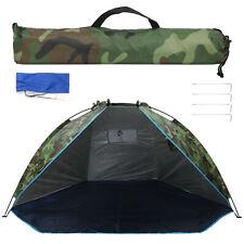 2 Mann Angelzelt Shelter Tragbar Camouflage Sunshade Outdoor Set