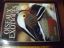 ?µ Revue des Oiseaux Exotiques n°275 Astrild Canard AIX Perruche bonnet B. ARAS
