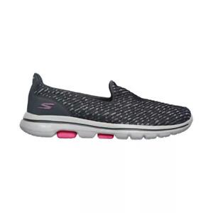 Skechers GoWalk 5 - Miracle Women's Shoe - Grey/Pink