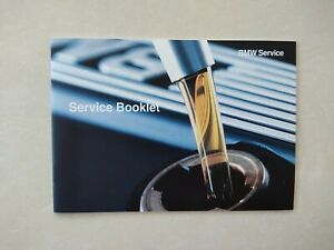 💯ORIGINAL New BMW SERVICE HISTORY BOOK FOR ALL MODELS PETROL & DIESEL...
