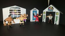 WWF/WWE CUSTOM HASBRO SCALE IN YOUR HOUSE SET FOR WRESTLING FIGURES