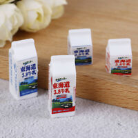 1/12 Dollhouse Toys Miniature milk box for Miniature Kitchen Acces ANE