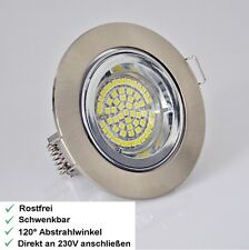 Bicolor Design LED Einbaustrahler - Einbauspots - Einbauleuchte - Gu10   - R3