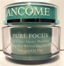 Lancome Pure Focus Matifying Skin Revitalizing Gel Cream 1.7 oz Oil Free