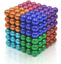 Ball Magnetic Sky Magnets 5 mm Cube Fidget Gadget Toys Rare Earth Magnets...