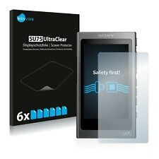 6x protection d'écran pour Sony nw-a35 Film De Protection Clair Film écran Film