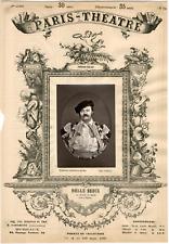 Lemercier, Paris-Théâtre, Enrico Augusto Delle Sedie (1822-1907), chanteur Vinta