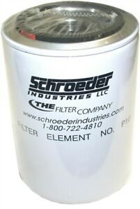 Up to 13 New Schroeder Canister P10 Top Ported Pressure Filter Element 10 micron