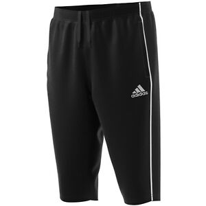 adidas ClimaLite 3/4 Heren Hose Sporthose Jogginghose Trainingshose schwarz