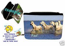 portefeuille cheval personnalisable avec prénom réf 11