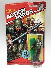 Vintage - Woolworth - Action Heros - PARATROOPER  Action Figure  (1980) RARE!