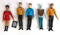 "Vtg 1991 Lot of 5 Star Trek Original Series Hamilton Gifts 10"" Action Figures"