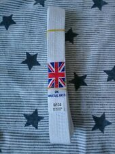 UK martial arts karate white belt 130 cm