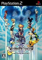 PS2 Kingdom Hearts II Final Mix+ Limited Book Free Ship w/Tracking# New Japan