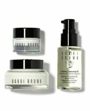 Bobbi Brown Carry On Essentials SkinCare Set Cleansing Oil Face & Eye Cream New